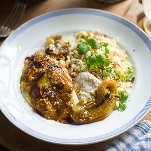 Indian Style Roast Free Range Chicken