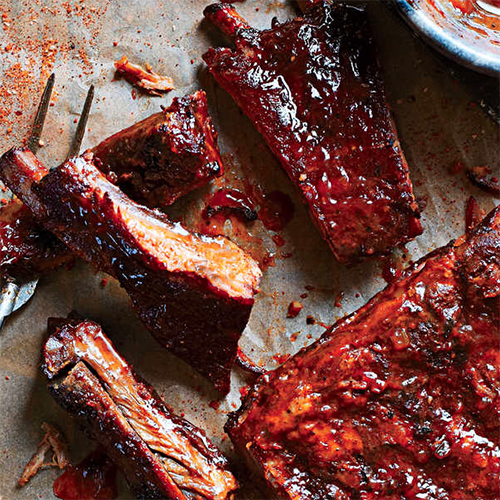 The Ultimate Barbecued Pork Ribs