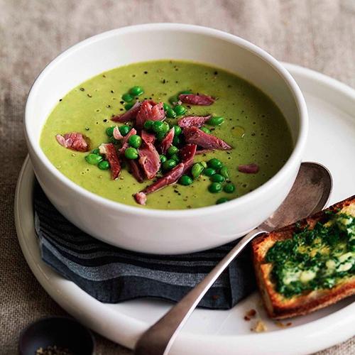 Pea & Smoked Pork Hock Soup