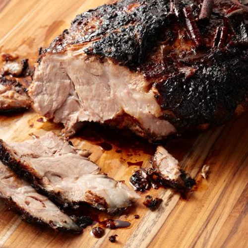 Lime and Chilli Roasted Pork Shoulder