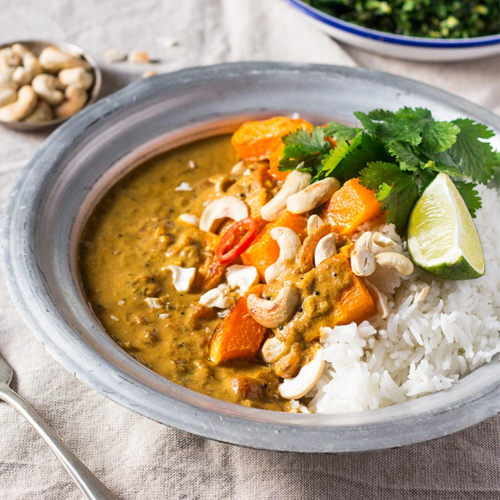 ROAST PUMPKIN COCONUT CURRY
