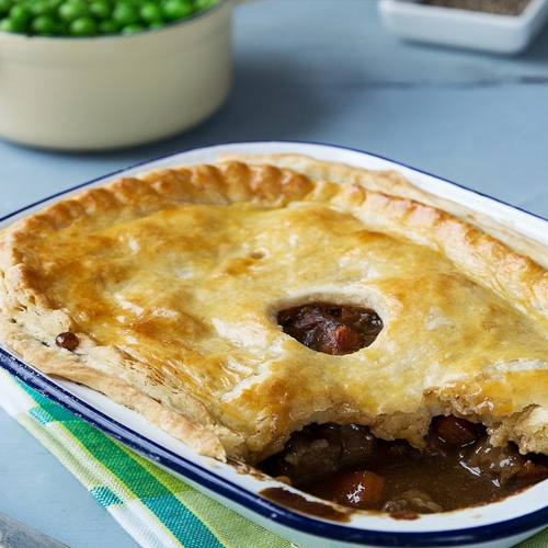 BEST EVER BEEF, GUINESS AND MUSHROOM PIE